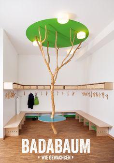 badabaum forest theme kids classroom.