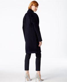 Jones New York Textured Walker Coat - Coats - Women - Macy's
