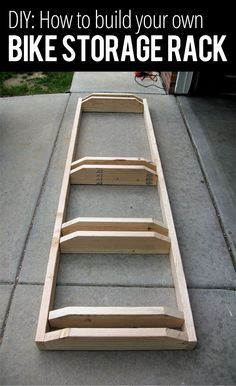 Racks to keep your ride stable and safe bikes . - 20 DIY bikes racks to keep your ride stable and safe bikes DIY Bikes Racks to keep your ride stable and safe bikes . - 20 DIY bikes racks to keep your ride stable and safe bikes - HOME DZINE Home DIY Bike Stand Diy, Diy Bike Rack, Bicycle Stand, Bicycle Rack, Bike Stands, Wood Bike Rack, Bike Holder, Bike Storage Roof, Garage Storage