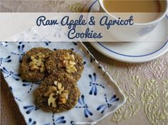 Raw Apple & Apricot Cookies recipe by Alison Smith PhD of alisonsmith.com #glutenfree #sugarfree