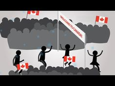 Immigration to Canada - Exploring the past . predicting the future by Social Sciences RHSS Work Abroad, Study Abroad, Visa Canada, Canada 150, Service Canada, Overseas Jobs, Immigration Canada, Social Studies Resources, Free Education