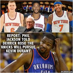 So uhhh...it sounds like the New York Knicks have big plans again. 6/24/2016