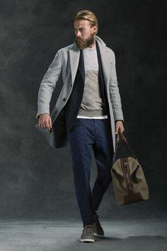 utility pants | Brunello Cucinelli Fall 2016 Menswear Fashion Show