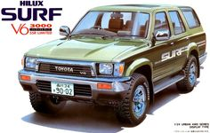 Toyota hilux surf 80s style