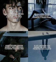 Finch All the Bright Places by Jennifer Niven Badass Aesthetic, Character Aesthetic, All The Bright Places Quotes, Novel Genres, Jennifer Niven, Bookworm Quotes, Daughter Of Smoke And Bone, Book Works, Favorite Book Quotes