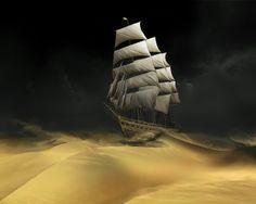 Sand sea.