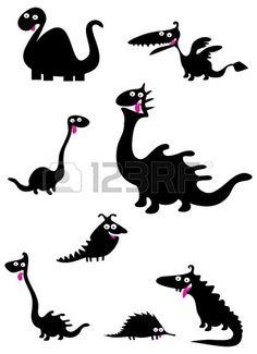Funny dinosaurussen