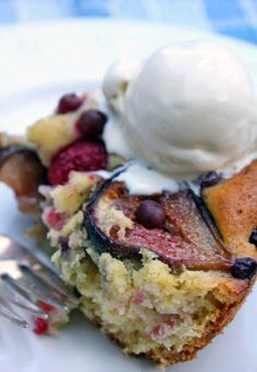 Fig, Champagne Grapes and Raspberry Cake, for my 17th Anniversary! — Zoe Bakes