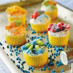 Lemonade Cupcakes   MyRecipes.com