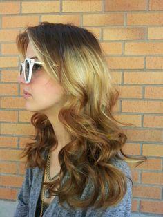 Splashlights. New hair trends