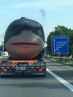 Jaws on the German Autobahn.