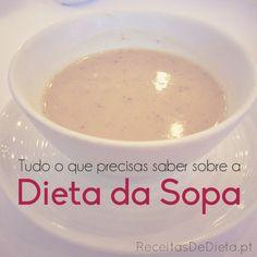 Tudo o que precisas saber sobre a DIETA DA SOPA #dieta #fitness #saude