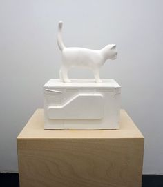 Cat with Microwave (2012) - Kenny Hunter