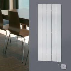 Desrad Hera Electro Vertical Radiator - Single