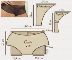 tura,Patrones y mucho mas: Lenceria Underwear Pattern, Lingerie Patterns, Sewing Lingerie, Jolie Lingerie, Best Lingerie, Pattern Draping, Bra Pattern, Batik Fashion, Long Underwear
