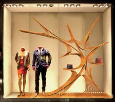 Hermes China Window Display design(proposal) by james  chang, via Behance