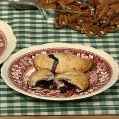 the chew | Recipe  | Carla Hall's Blueberry Hand Pies