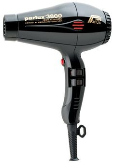 Parlux 3800 Black – Secador iónico cerámico, color negro | Your #1 Source for Beauty Products