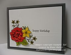 Something to Like - http://mydianedesigns.blogspot.com/ Stampin' Up!, I Like You, Something to Say, Blendabilities