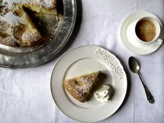 Italian Pear Cake