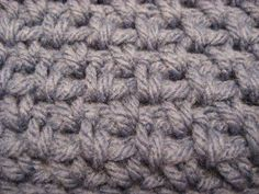 Hooked on Needles: How to Crochet -- Woven stitch
