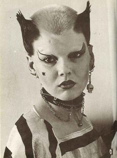 Soo Catwoman, legendary London punk, 1976, Ray Stevenson
