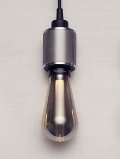 the buster + punch 'buster bulb' enhances LED technology to provide a more energy-efficient lighting alternative than incandescent and filament lights Luminaire Design, Lamp Design, Led Light Design, Lighting Design, Interior Lighting, Modern Lighting, Energy Efficient Lighting, Luz Natural, Lamp Light