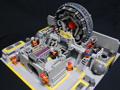 Futuristic Power Plant