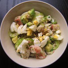 30 Salads x 30 days Project: Day 6 - Crab Avocado (Rice) Salad