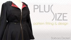 Plus-size women deserve cute clothes! Learn how to make comfortable and flattering garments with Barbara Deckert, author of Sewing for Plus Sizes.