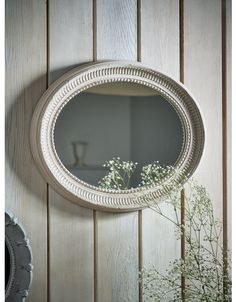 Ornate Wall and Hanging Mirrors