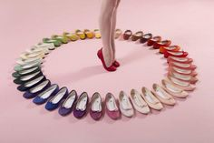 Collection of ballerinas by Repetto - find the Repetto that suits you