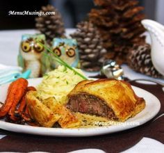 Menu Musings of a Modern American Mom: Beef Wellington with Green Peppercorn Sauce