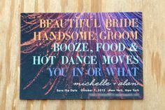 62 Trendy wedding invitations wording hilarious save the date Creative Wedding Invitations, Wedding Invitation Wording, Wedding Stationery, Invites, Anniversary Invitations, Invitation Cards, Wedding Anniversary, Wedding Paper, Our Wedding