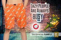 THE COOL and FUNKY MALE BOXERS Apply Coupon Code - FLAMB121