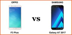 Oppo F3 Plus vs Samsung Galaxy A7 2017