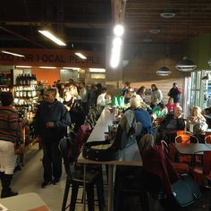 The Market's hopping with delicious food and beer and amazing music. Come on out and experience it for yourself!