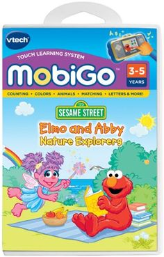 VTech MobiGo Software  Elmo and Abbey Nature Explorers * To view further for this item, visit the image link.Note:It is affiliate link to Amazon. #sun