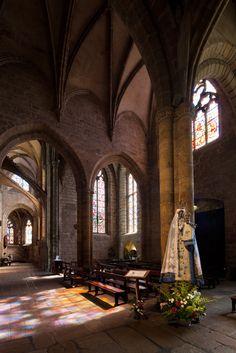 Notre Dame-de-Bon-Secours, Guingamp (Côtes-d'Armor)  Brittany, France Photo by Dennis Aubrey