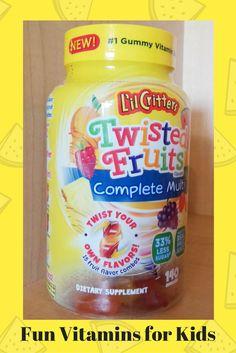 Vitamins for Kids #littlecritters #freesample