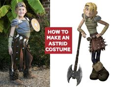 How To Make an Astrid Costume - { a swoop and a dart }