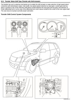 4-Mode 4WD Components