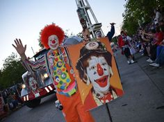 #Seafair clowns remember J.P. Patches at the Torchlight Parade