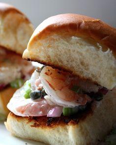 tarragon caper mayonnaise # hgeats shrimp roll with tarragon caper ...