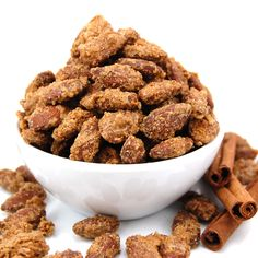 Cinnamon Roasted Almonds (1) From: Sweet Pea's Kitchen, please visit