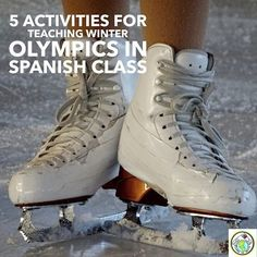 5 Activities to Incorporate the Winter Olympics in Spanish Class Spanish Lessons For Kids, Spanish Basics, Spanish Lesson Plans, French Lessons, Learn Spanish, Spanish 1, Speak Spanish, Spanish Classroom, Teaching Spanish
