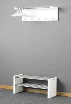Jocke Hatt- & Skohylla från Westroth hos ConfidentLiving.se Bathroom Rack, Floating Nightstand, Confident, Shelves, Interior Design, Furniture, Home Decor, Floating Headboard, Nest Design