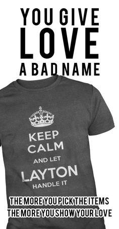 LAYTON IS HERE. KEEP CALM