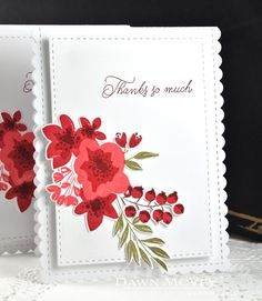 PTI Give Thanks + Fresh Bouquet holiday thank you notes - Dawn McVey