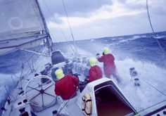 The Fazisi crew wearing Musto during the 1989-90 Whitbread Round the World Race. Skip Novak/PPL ©